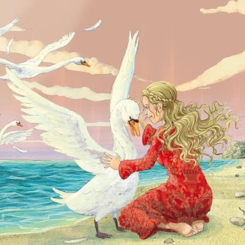 Les cygnes sauvages - un conte de fées de Hans Christian Andersen ...